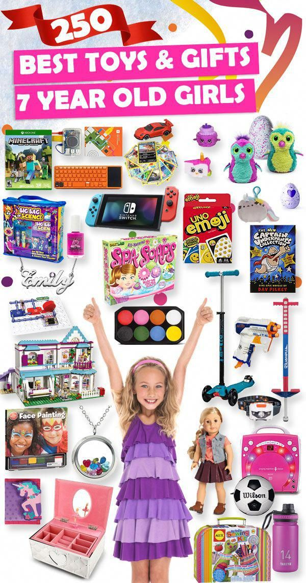 Tons Of Great Gift Ideas For 7 Year Old Girls Uniquechristmasgiftsforkids