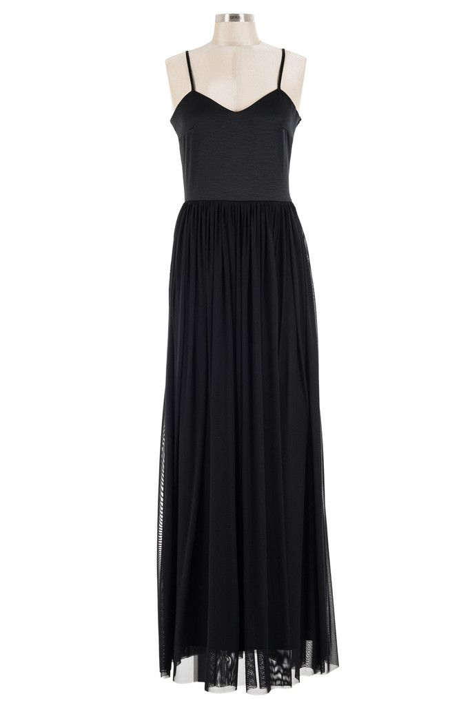 Unforgettable Maxi Dress - Black