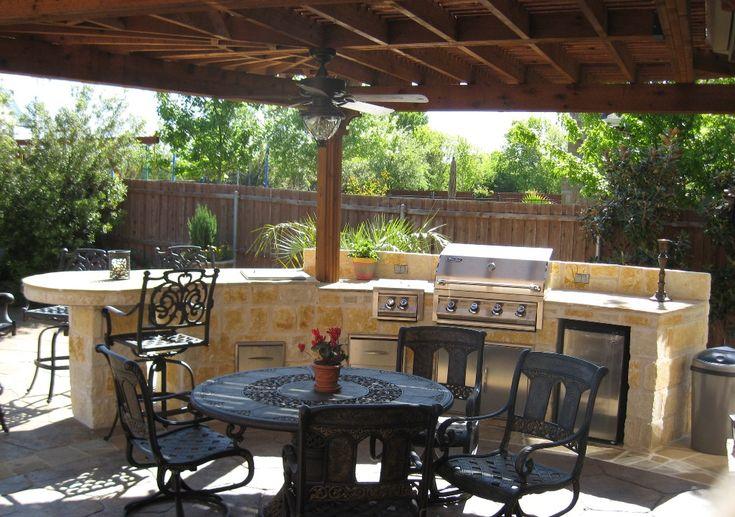 17 best images about outdoor kitchen gazebos on pinterest tropical kitchen wooden garden - Tropical outdoor kitchen designs ...
