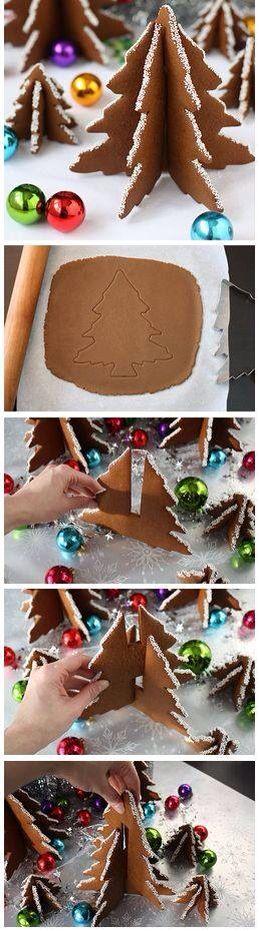 arbol de navidad galleta 3D