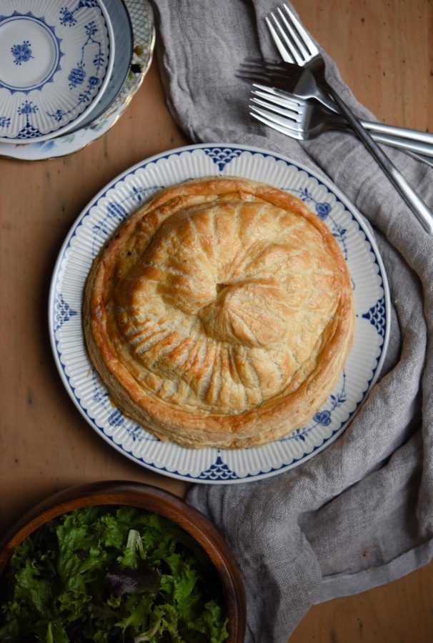 This Cheese, Onion & Potato Pithivier is made using @barbers1833. Checkout the #BarbersCookBook #competition