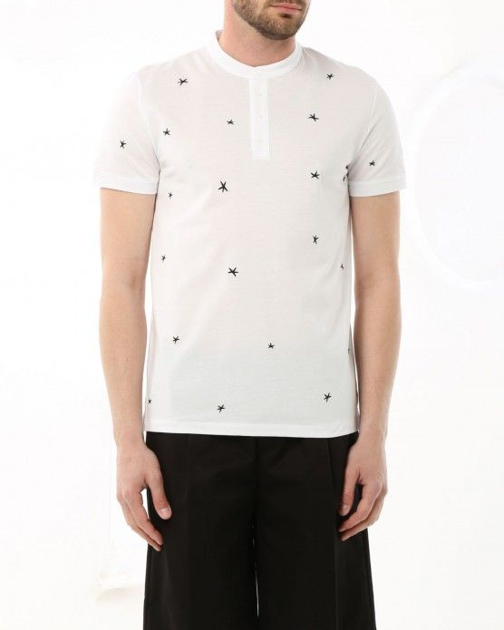 T-shirt with star design Paolo Pecora