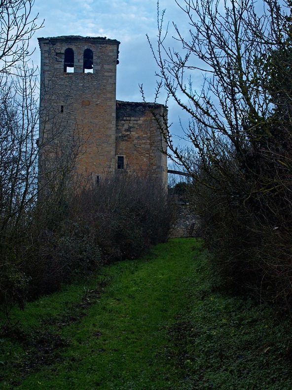 #Ziriano. La iglesia de #SanJuanEvagelista del s. XVI obtuvo categoría de Monumento en 2012 vía @patrimonioalava