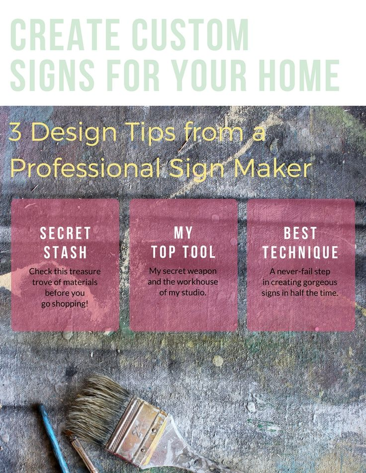 """Discover where a professional sign maker """"shops"""" for raw materials, a time-saving technique that leaves a perfect finish every time, and the one tool no sign maker should be without."""
