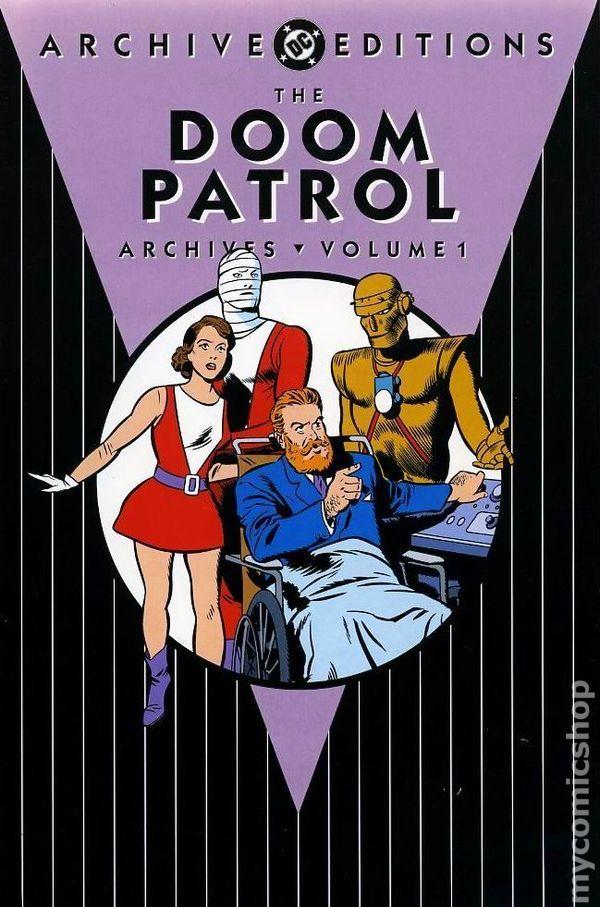 DC Archive Editions Doom Patrol HC (2002-2008 DC) 1-REP