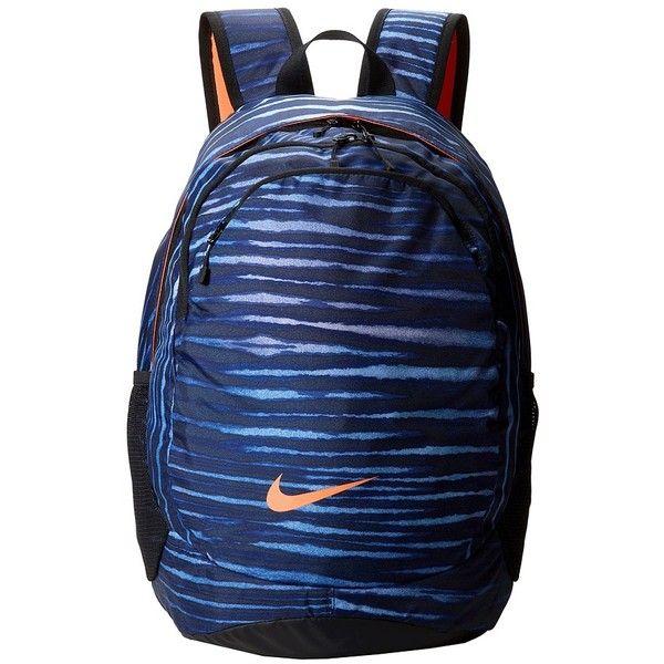 Nike Legend Backpack ($65) ❤ liked on Polyvore featuring bags, backpacks, backpack bags, nike bags, nike, mesh zipper bag and mesh backpack