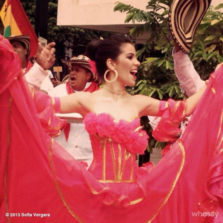 Sofia Vergara's Photo www.whosay.com Viva Maria Margarita la nueva reina del Carnaval de Barranquilla!!!
