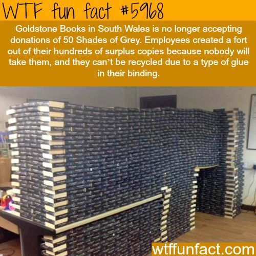 This book store won't accept 50 Shades of Grey - WTF fun facts