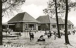 Speelplaats van de kleuterschool van Meulenberg