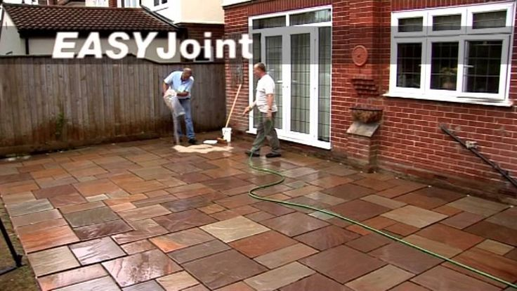 Quick, easy and clean way to point paving including natural stone (granite, slate, sandstone, etc etc) and concrete.  It can be used in wet and dry weather, by DIY enthusiasts or professional Landscapers. http://www.arconsupplies.co.uk/paving-and-bedding-mortars