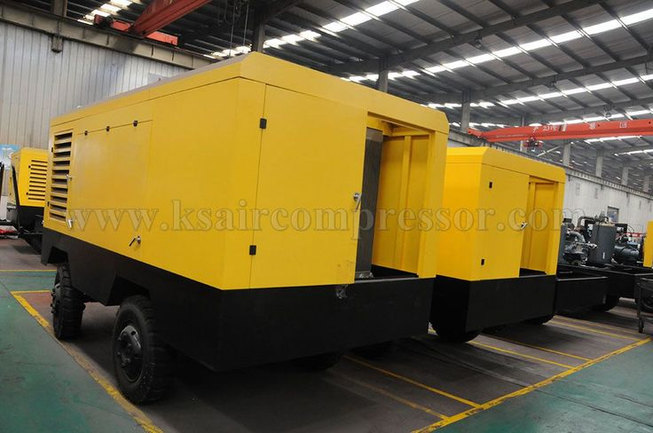 Kaishan brand portable air compressor, screw air compressor
