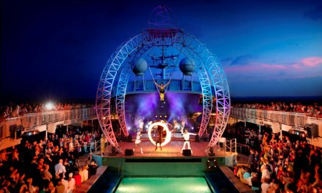 Australia Day: entertainment done right, P  O's Pacific Jewel... #AustraliaDayOnboard