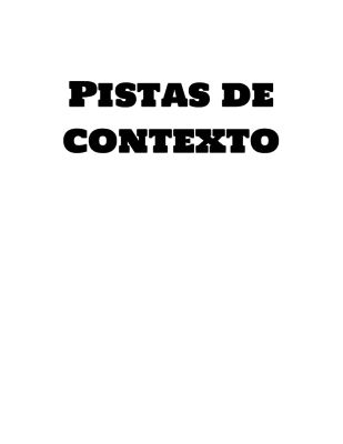 Tarjetas de Pistas de Contexto from DL Store on TeachersNotebook.com -  (17 pages)  - Tarjetas para practicar pistas de contexto e incrementar vocabulario.