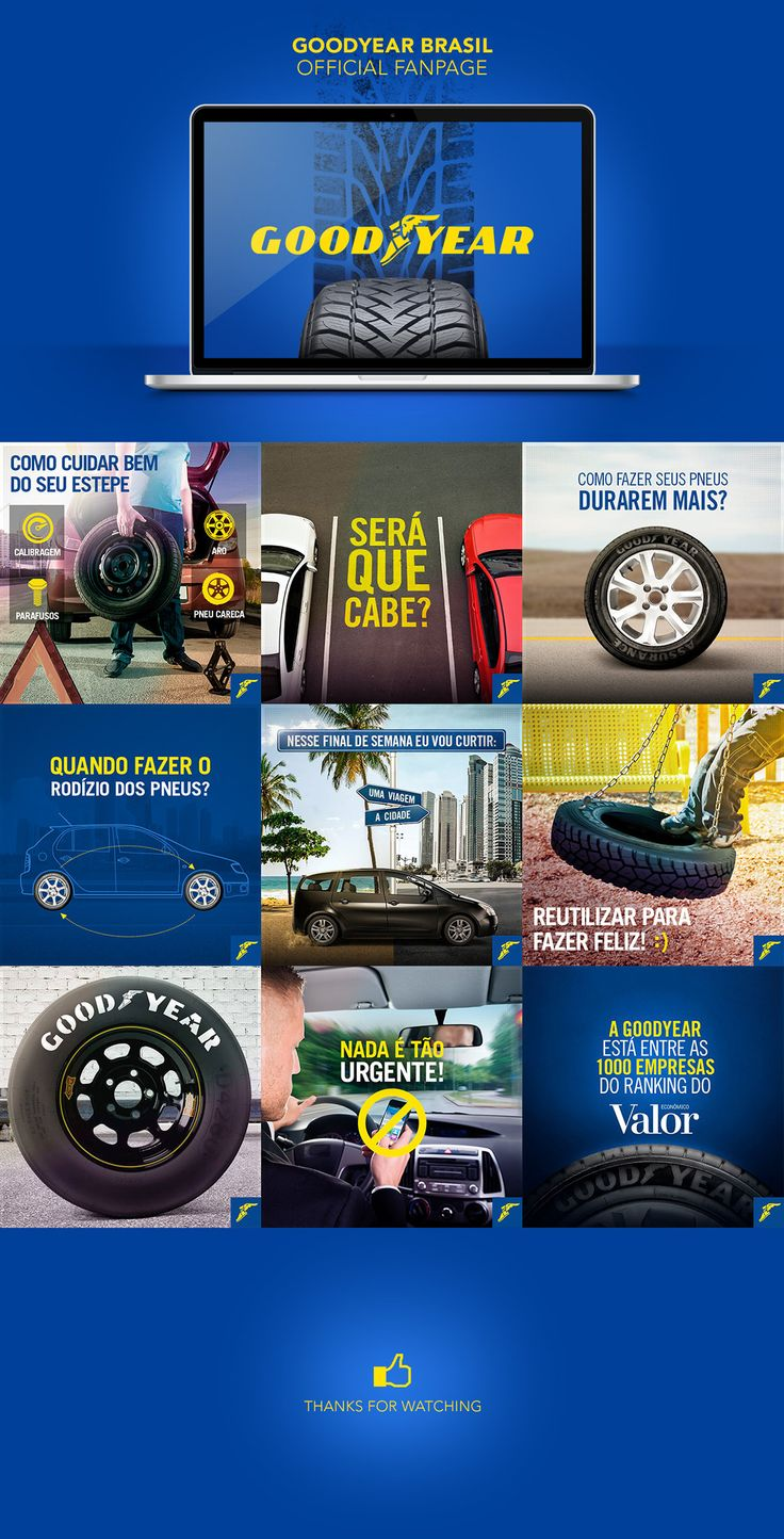 Goodyear Brasil Official Fanpage on Behance