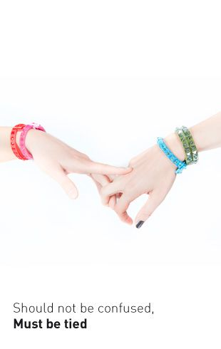 @tieups  Discounted fashion bracelets 40% colorful, with studs, hypoallergenic, two closing mode