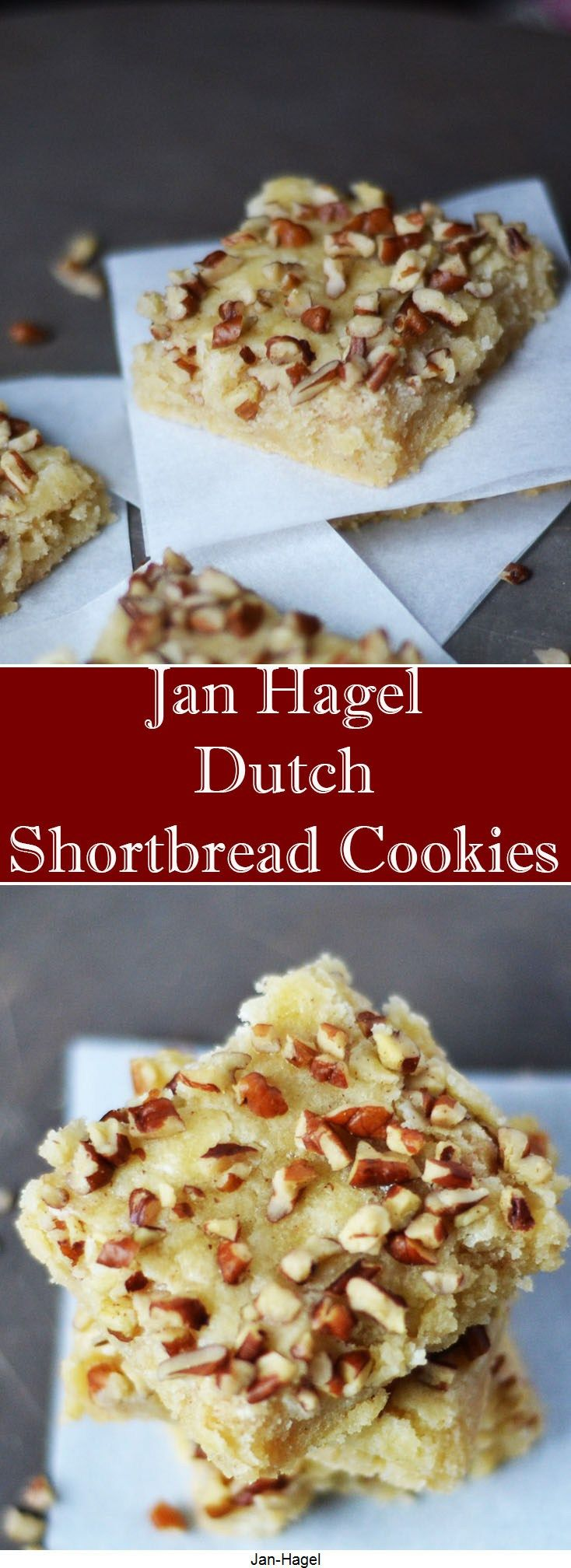 Jan Hagel - Dutch Shortbread Cookies