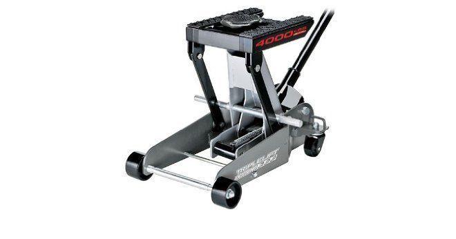 Triple Lift Floor Jack Hydraulic Automotive ATV Vehicle 4000 LB Manual Stand Car #Powerbuilt