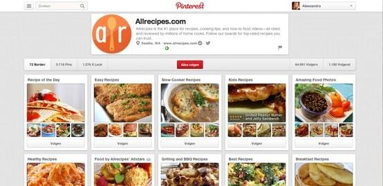 Allrecipes is 's werelds grootste online foodbrand. Allrecipes heeft meer dan 30 miljoen recepten om online te delen. Zo wordt hun community als maar groter, het wordt gemakkelijk om nieuwe recepten te ontdekken (ook via video's) en al maar meer mensen klikken door naar hun website. Communicatie met reeds klanten wordt beter onderhouden en nieuwe klanten ontdekken hun creatief concept!