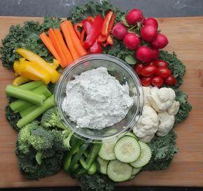 Makkelijk Dieet Recept: Groentesnack met Magere Dipsaus Dit is een lekkere snack…