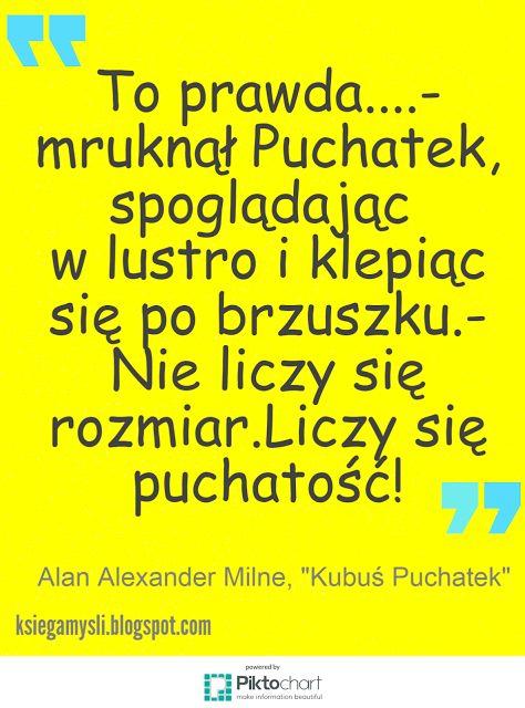 Księga Myśli #cytaty #Kubuś #Puchatek