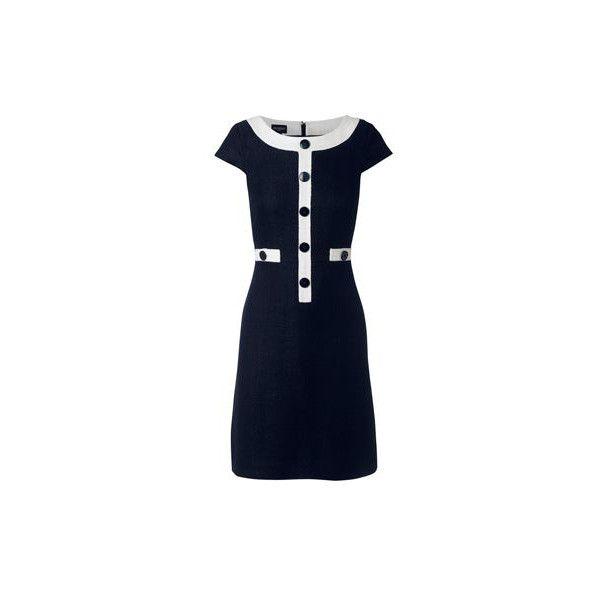 Hobbs london dress blue and black check
