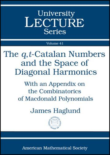 The $q,t$-Catalan Numbers and the Space of Diagonal Harmonics (University Lecture Series)
