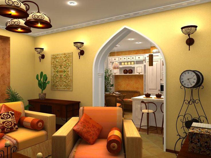 Дизайн: Семь идей для гостиной в восточном стиле :: Ваш дом :: РБК Недвижимость