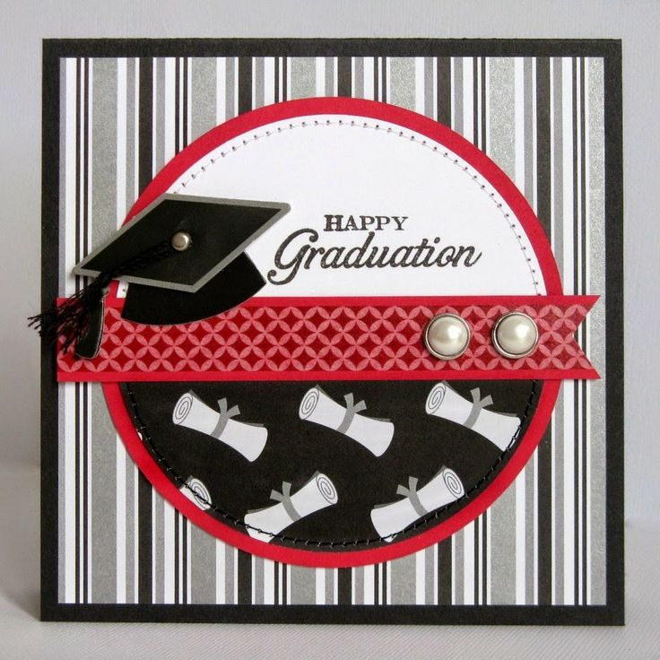 Snippets By Mendi: Doodlebug Cap & Gown Graduation Card.