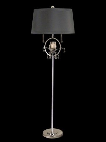 dale tiffany 3 bulb lamps with polished chrome finish gf10741 - Torchiere Lamp