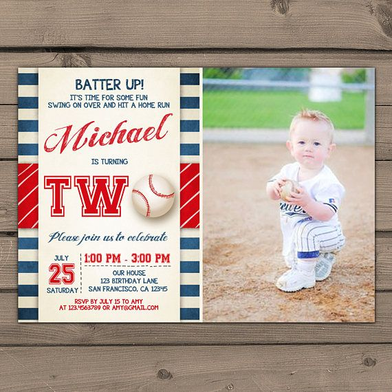 best 20+ baseball birthday invitations ideas on pinterest, Birthday invitations