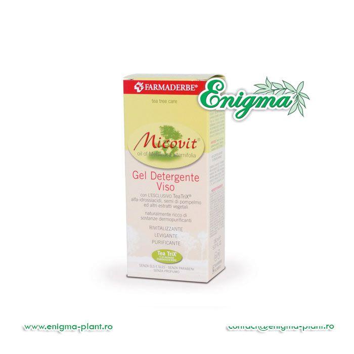 Micovit Gel de fata 150mleste un gel moale şi proaspăt, bogat în principii vegetale ideale pentru curăţarea zilnică a feţe, chiar şi pentru pielea cea mai exigentă.Permite o curăţare delicată şi contribuie la reechilibrarea naturală a funcţiilor pielii, păstrân