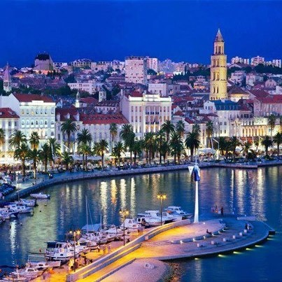 Split, Croatia... one of the marked stops on the cruise, have never been there!