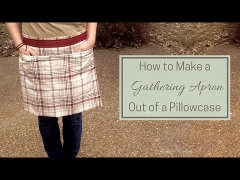 How to Make an Egg Gathering Apron from a Pillowcase – Summers Acres
