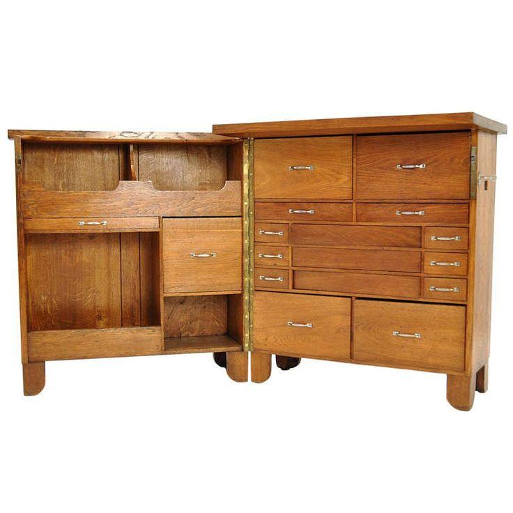 folding writing desk france 1920 30 modern office