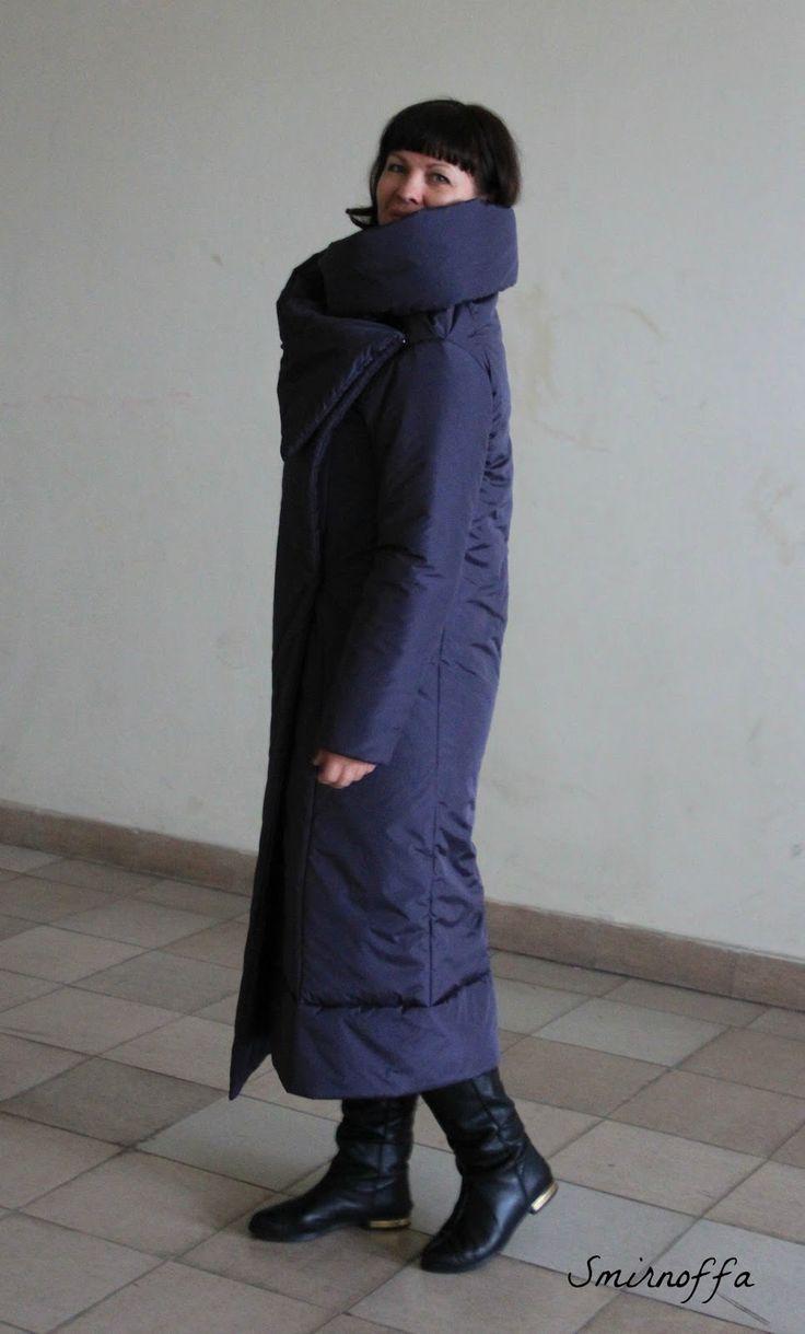 Invisible door: Пальто от квилтера.