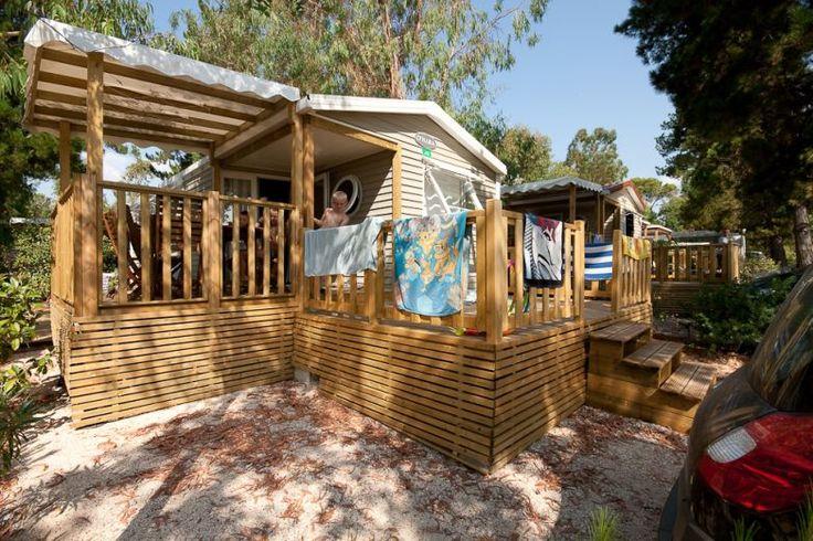 Mobile-home Privilège 3 chambres 6 personnes en camping avec parc aquatique