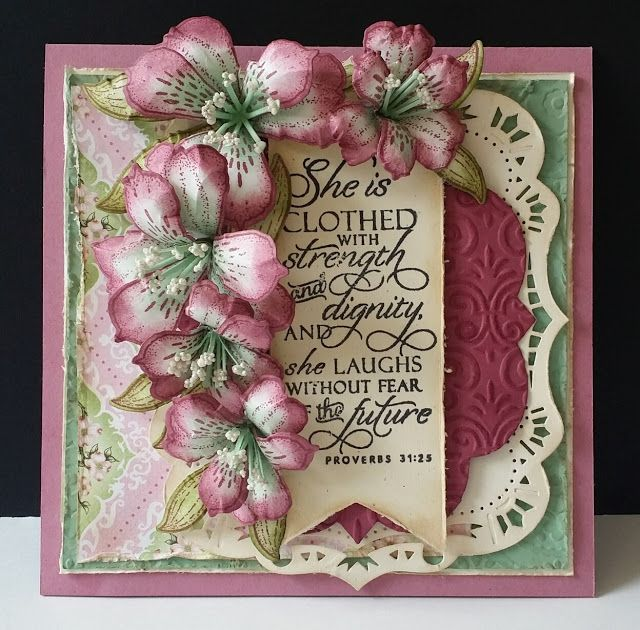 Sugar Plum Lilies by DJRants - Cards and Paper Crafts at Splitcoaststampers