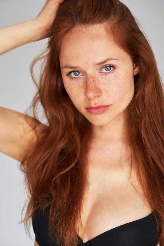 Amateur redhead freckles