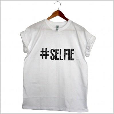 #Selfie Tee - #Tshirt- Clothing
