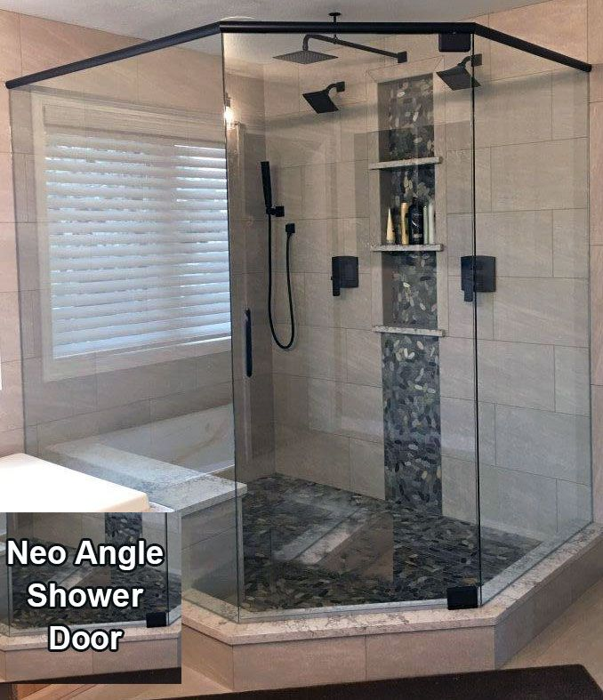 Neo Angled Shower Enclosure Installed By The Professionals At