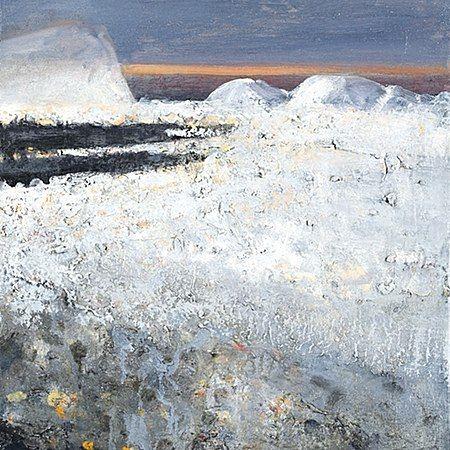 Ørnulf Opdahl: Vinterby, 2015, 60 x 50 cm