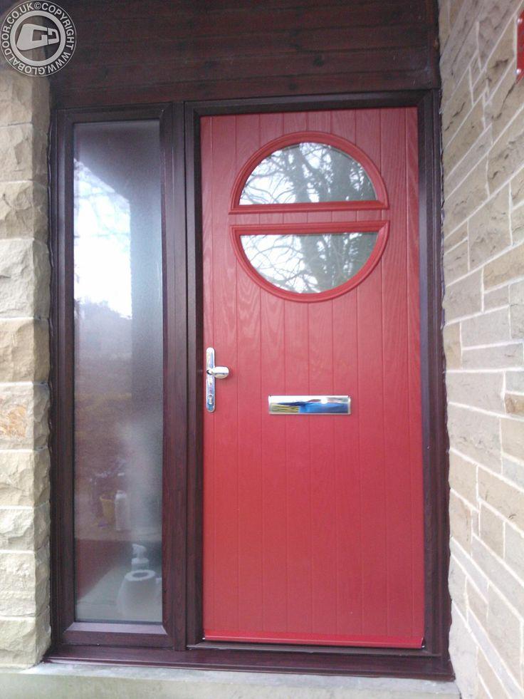 The 37 Best Red Composite Doors By Global Door Images On Pinterest