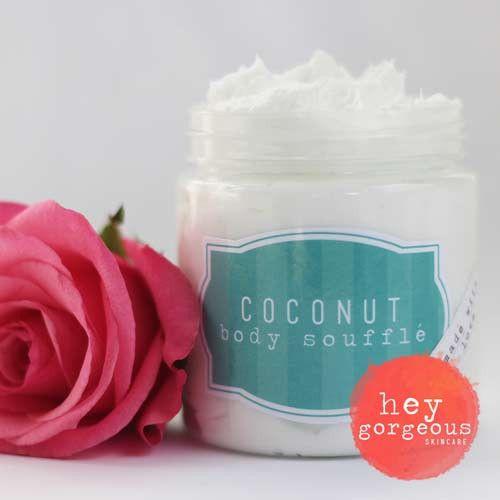 Coconut Decadent Body Souffle | Hey Gorgeous