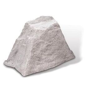 DekoRRa Small Artificial Rock Cover for Outlets & Septic Cleanouts (fieldstone) (Polyresin), Outdoor Décor