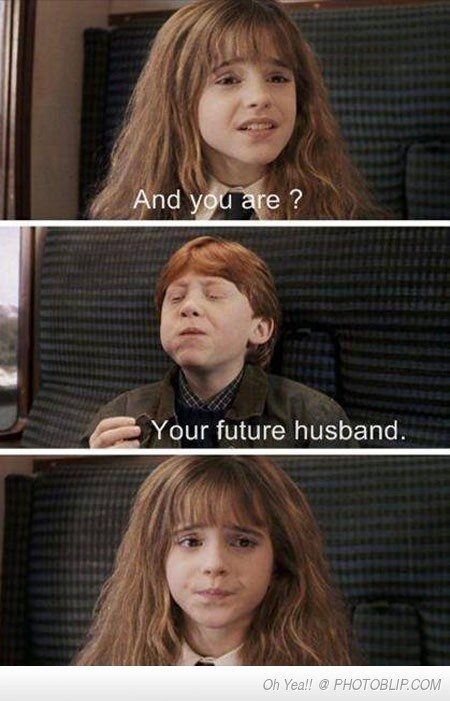 If Only She Knew...just replace husband with boyfriend and this picture is perfect :)