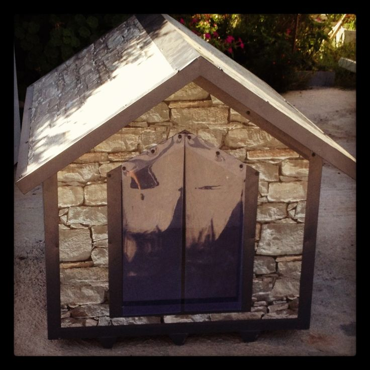 139 best images about theoprofil dog houses for Best dog door for winter