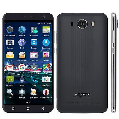 """﹩39.44. Unlocked 6""""INCH Android CELL Phone Smartphone 2 Dual SIM 3G GSM 4 Quad Core ATT    Lock Status (SIM Lock) - Unlocked, Network - Network Unlocked, Cellular Band - 3G (WCDMA 850/2100MHz);2G (GSM Quad Band), CPU - Quad Core, Contract - Without Contract, Operating System - Android 5.1, Storage Capacity - 8GB, Camera Resolution - 8.0MP, Features - 3G Data Capable, Bluetooth Enabled, GPS, Screen Size - 6"""", UPC - Does not apply, Color - Black"""