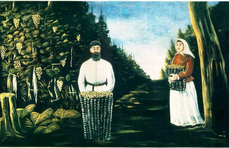 რთველი #ფიროსმანი #pirosmani #NikoPirosmani #art #painter #Qwelly #nikala #ნიკალა #ნიკოფიროსმანი