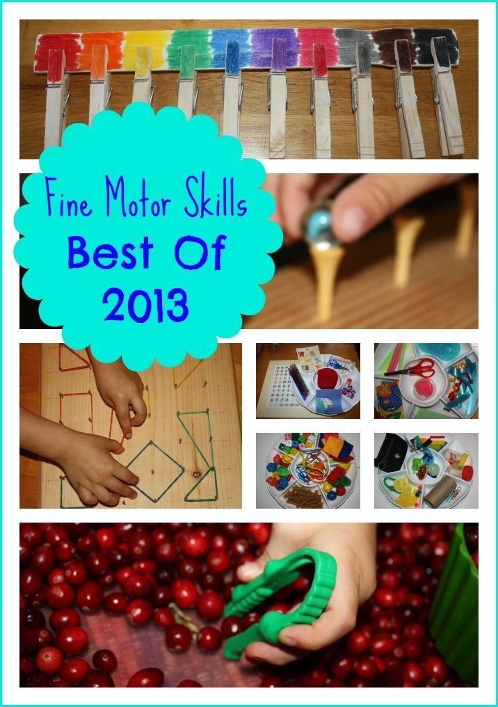 Fine Motor Skills Best of 2013