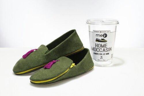 Home Moccasin: sciccose pantofole da viaggio.